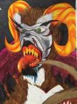 Evil space gorilla