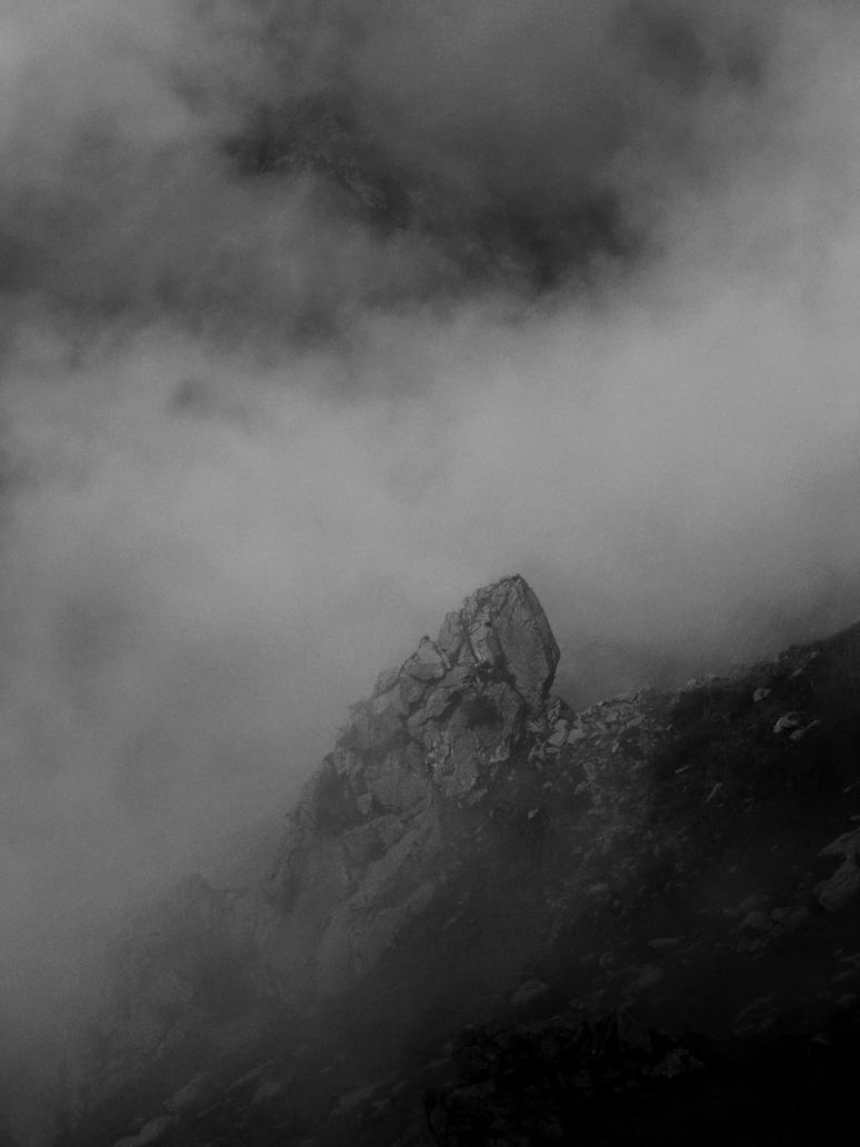 hiding in the mist by blackresurrection