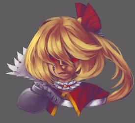 GC: Scarlet Raykalia Headshot by Remanoir