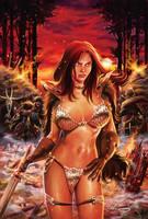 Red Sonja COver by RodArt