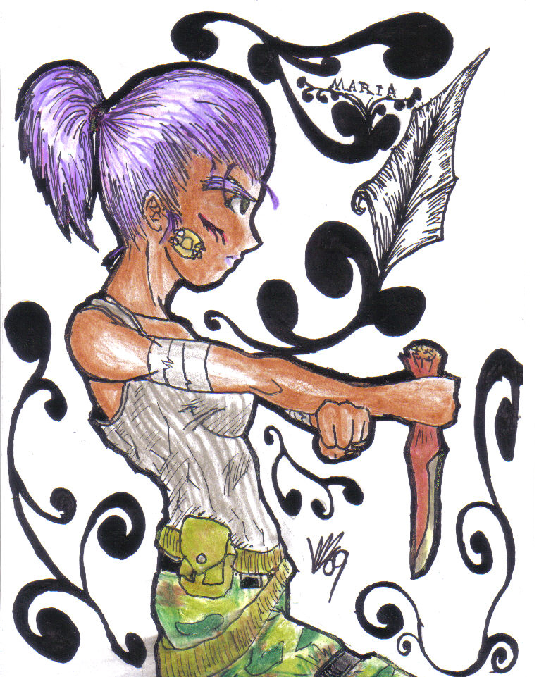 maria's knife by elosa
