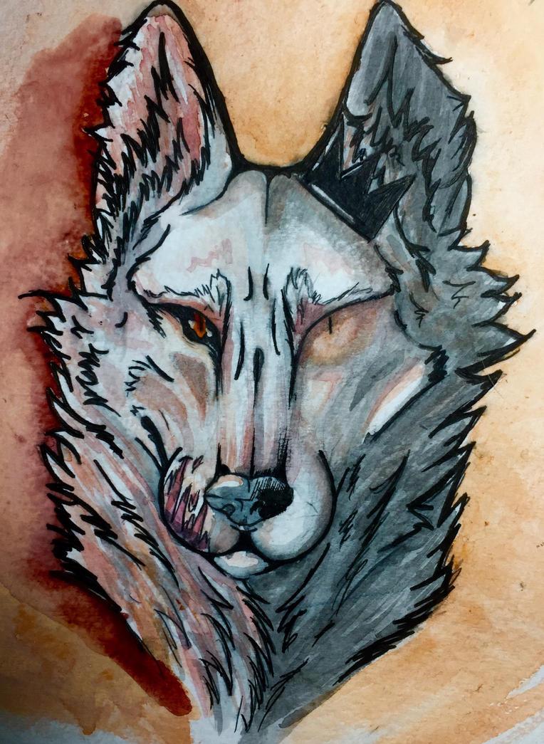 My BB fenrir ...again  by wolfstina