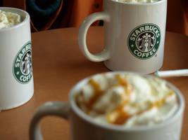 Starbucks Coffee by Deziwee