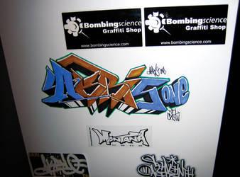 Akrisone Wildstyle Sticker by des-frontal