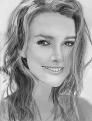 Kate Knightley Portrait Study by WaiChakChoi