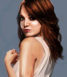 Emma Stone by WaiChakChoi
