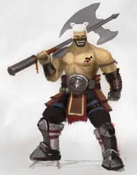bulky dude by WaiChakChoi