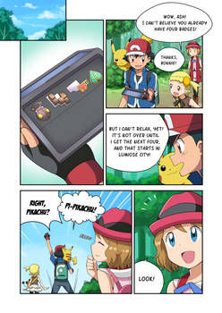 Jenny, I BLEW UP My Sister! (Alternate V.4 Page 1)