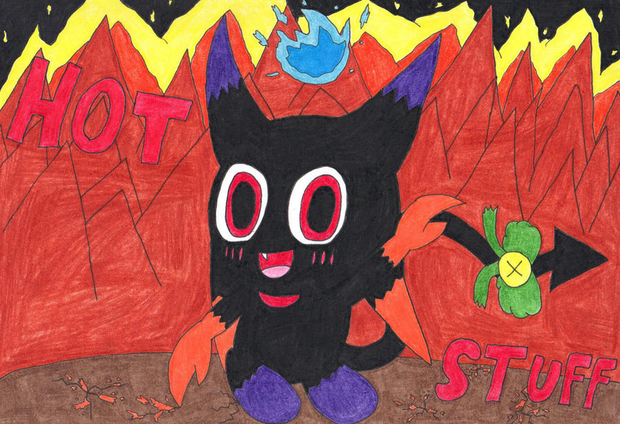 Angel in form of a devil chaos chao? by Angelchao64