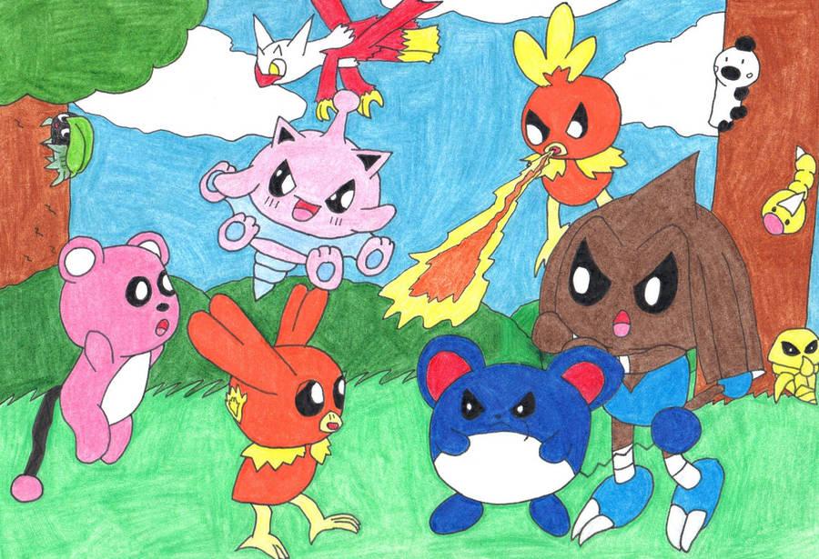 Pokemon generations? by pawniards