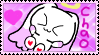 Angelchao stamp: Cute and happy by Angelchao64