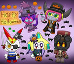 Happy Halloween! Costumed squad~