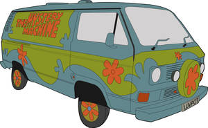 Mystery Machine by Elcool
