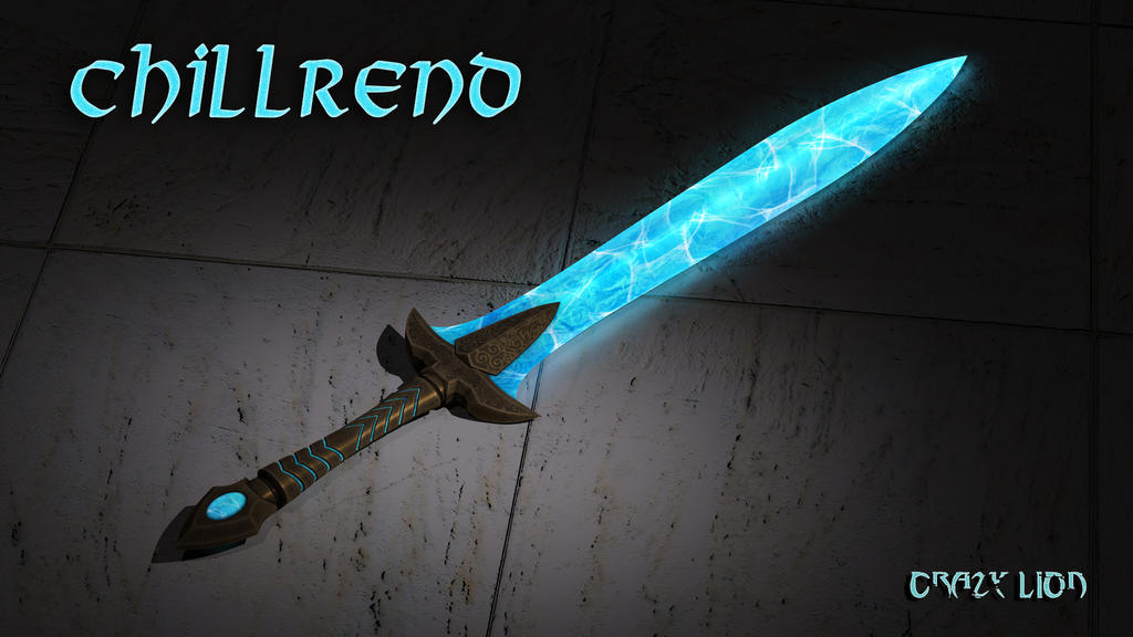 Ice Blade (Chillrend form the Game Skyrim) by crazy1lion on DeviantArt