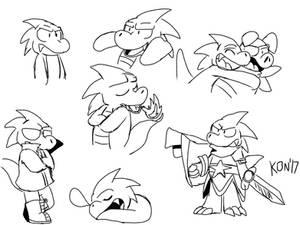 Wonder Boy doodles 2