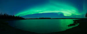 Northern lights by LiluSkitten