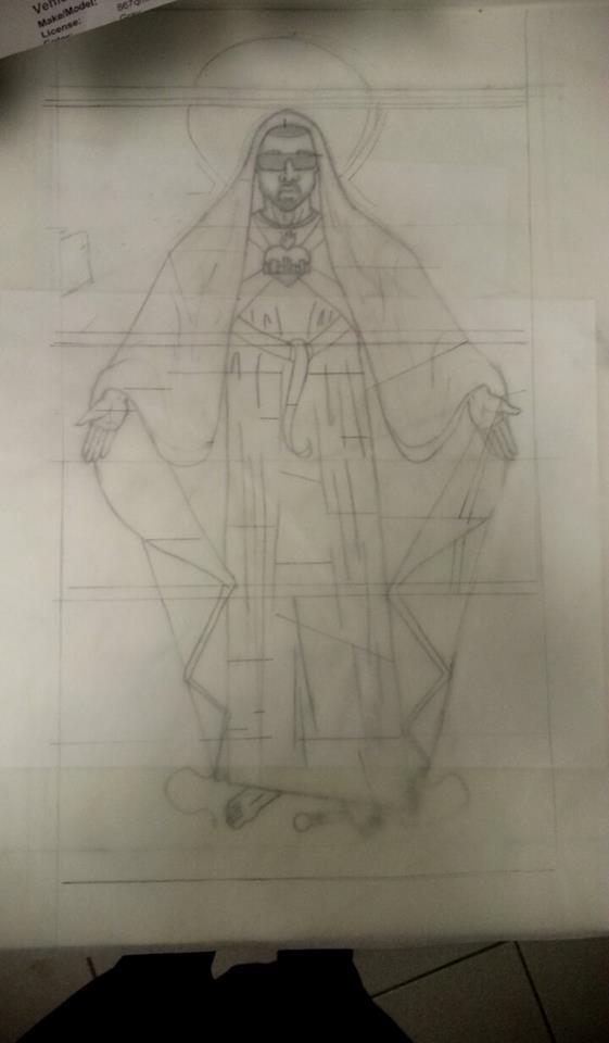 St. Yeezus by LiluSkitten