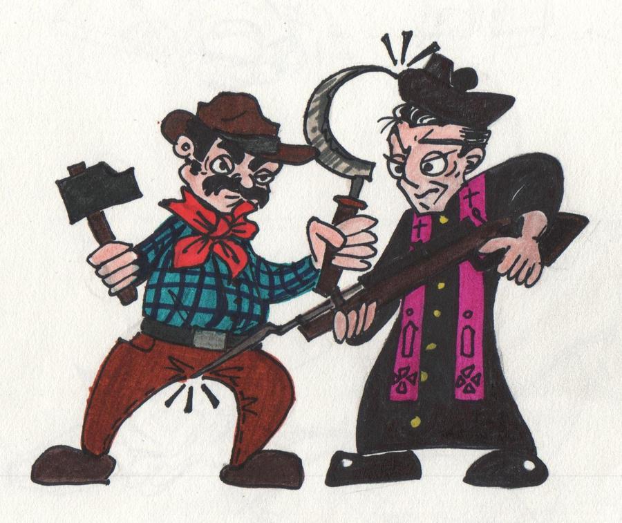 Peppone e Don Camillo by SmokerLongbottom