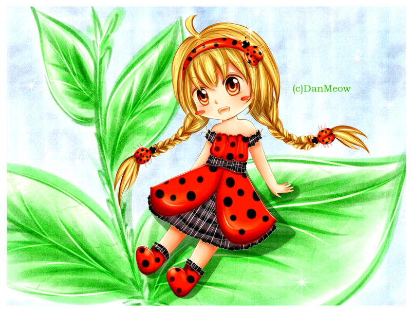 .::I'm A Ladybug::. by DanMeow