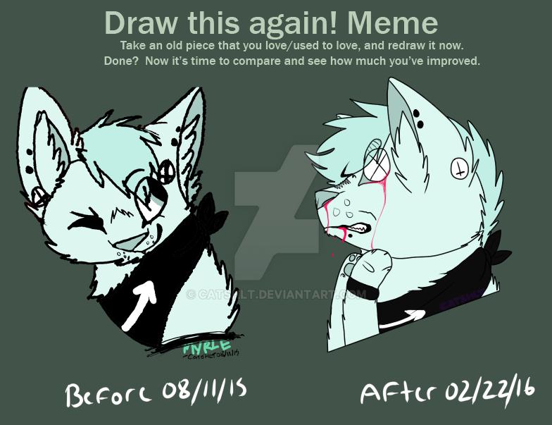 draw this again 2 by catshlt