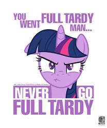 Never Go Full Tardy by Kman-Studio