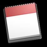 Macstyle empty calendar icon