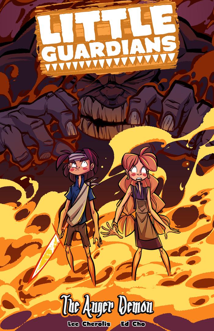 Little Guardians Book 2 - The Anger Demon - Cover by LittleGuardians