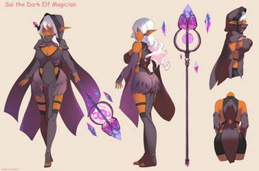 charadesign Dark elf