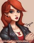 Portrait: Black Widow