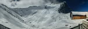 Snowy Mountain HDR Panorama