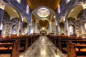 Galway Cathedral interior Pt. 5 by Cruciamentum