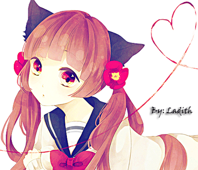 Image result for anime girl cat ears