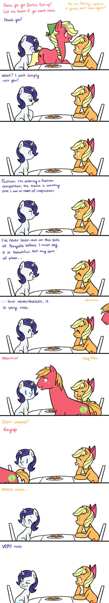 My Teenage Pony: Very Nice by kilalaaa