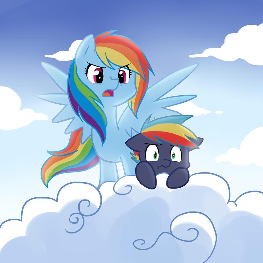 Rainbow Dash And Soarin Kids