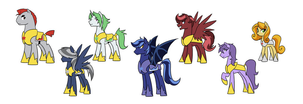 One Chance Characters by kilala97