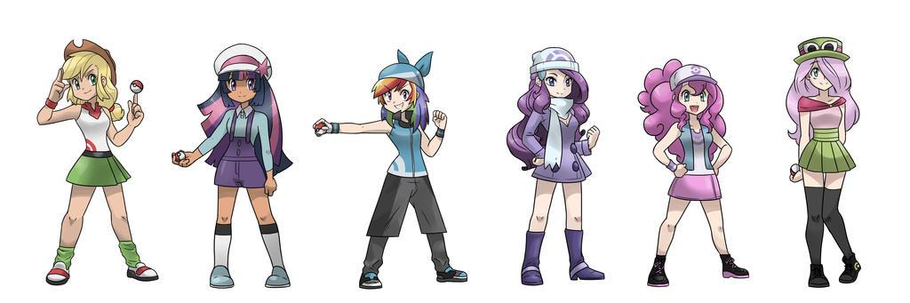 Pokemon Gen 4 Anime Characters : My little pokemon trainer by kilalaaa on deviantart