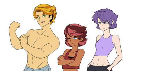 Genderbent Orphans