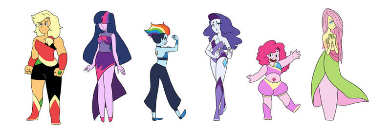 My Little Crystal Gems