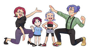 Team Rocket Family
