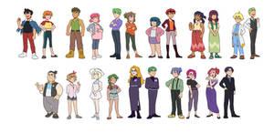 Older! Pokemon Cast