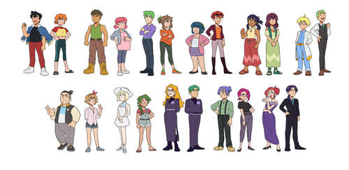 Older! Pokemon Cast by kianamai