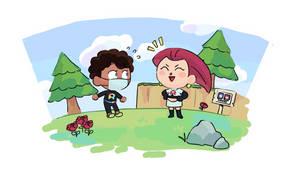 Jessie Visits Beepis Island