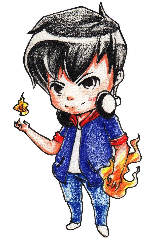 Flame Boy By Mask9307 On Deviantart