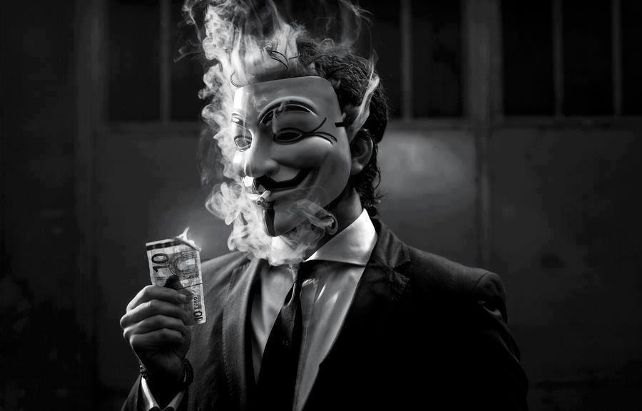 Anonymous Smoke Image by VegetaXz on DeviantArt