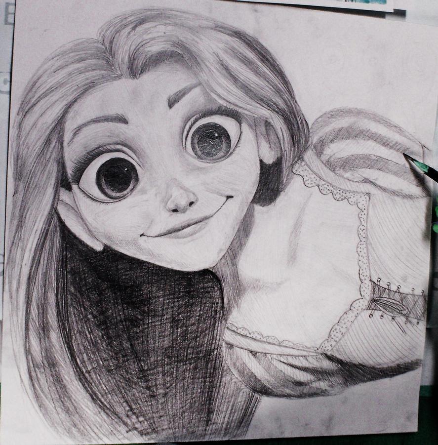 Rapunzel by Viki-chii