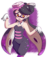 Splatoon - Callie [Colored] by Nocstella
