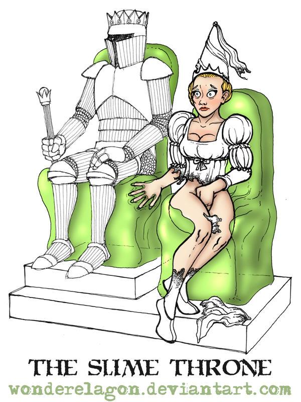 The Slime Throne by wonderElagon