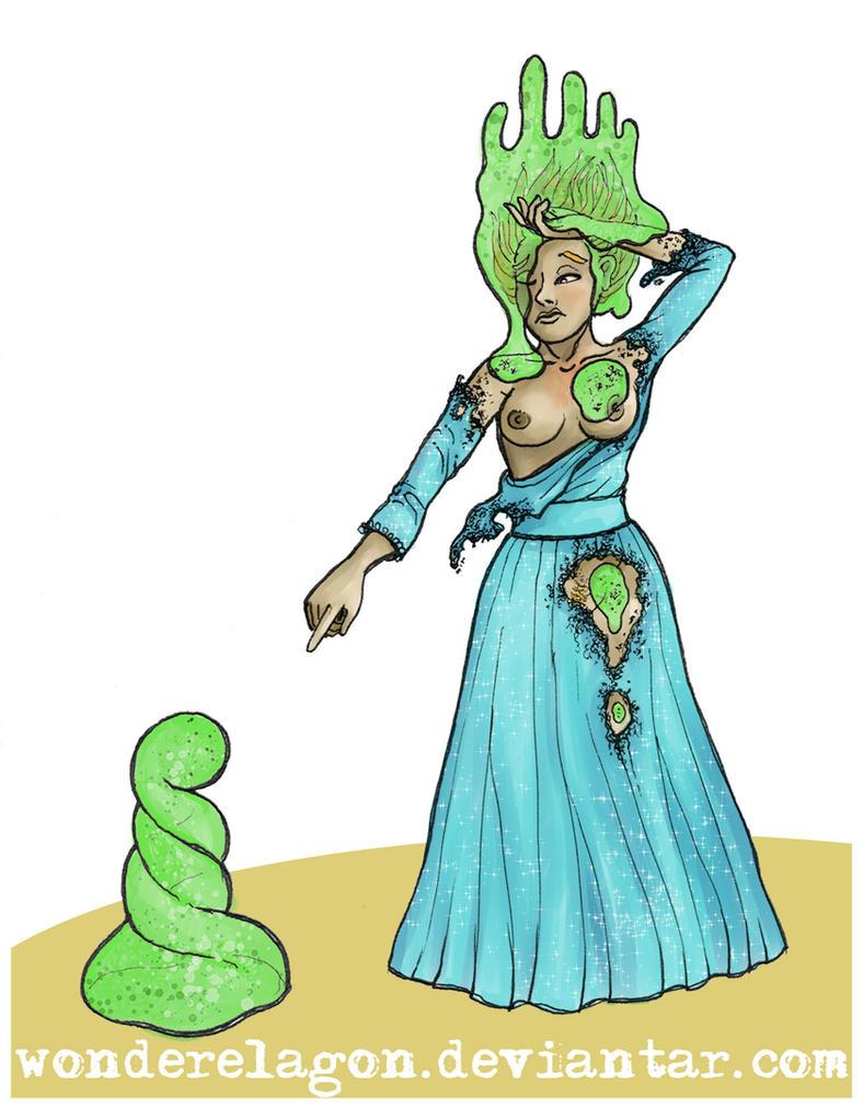 Slime crown by wonderElagon