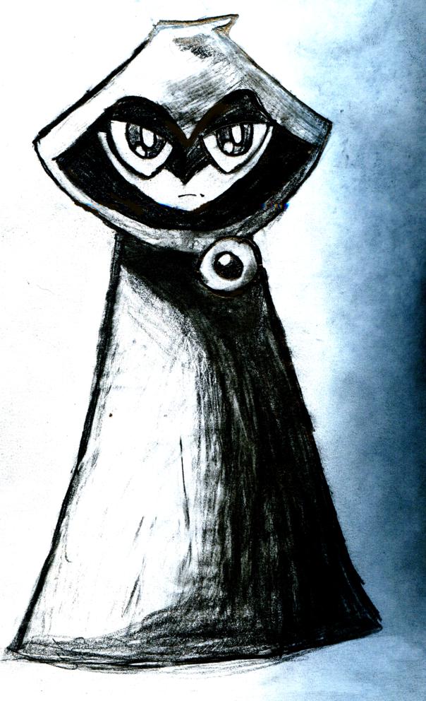 TEEN Titans Raven Sketch by Snatcher2047