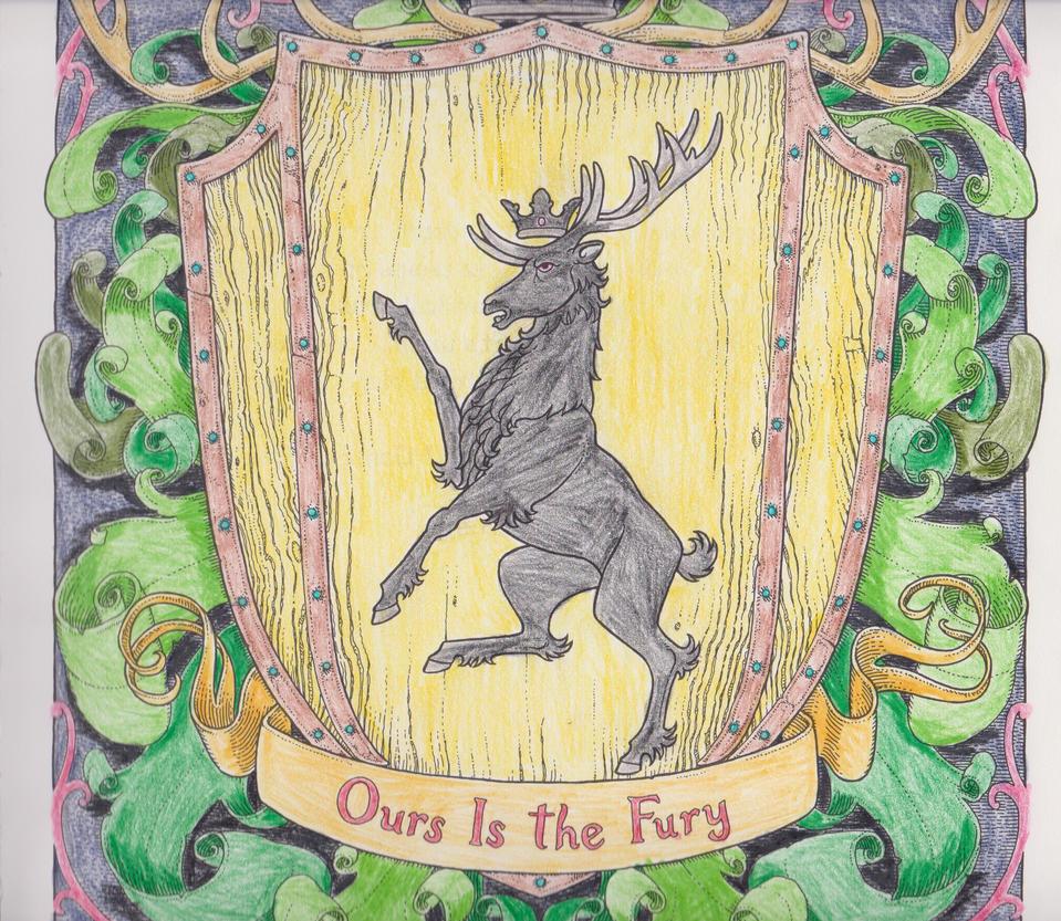 Baratheon Sigil By MoonbeamDragon1